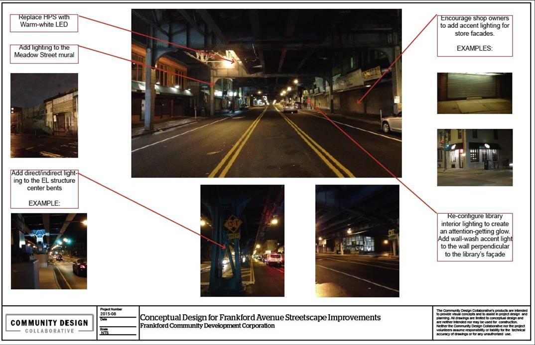 Frankford Community Development Corp--Frankford Avenue Streetscape